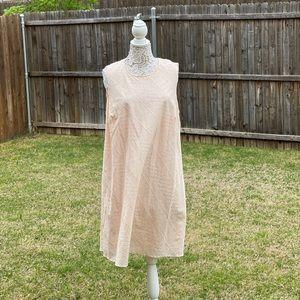Calvin Klein Size 16 Peach Dress NWT